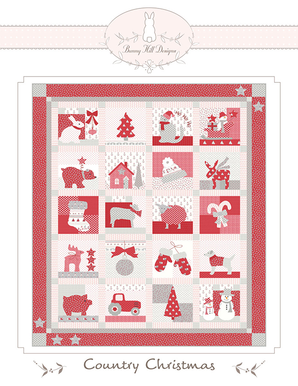 Country Christmas BOM/10 Mos Pattern 2155