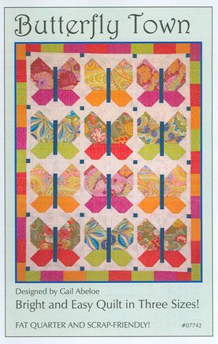 Butterfly Town Pattern