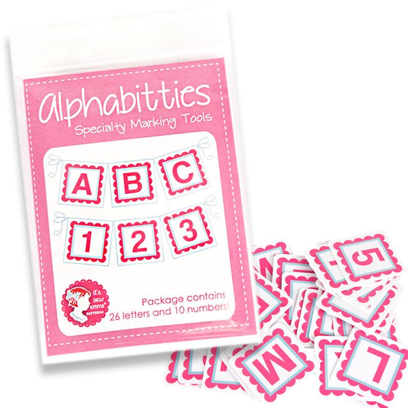Alphabitties Marking Tools Pink