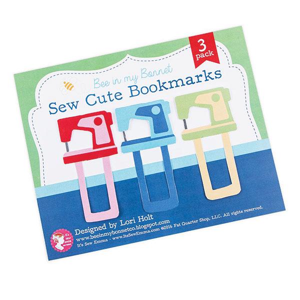 Sew Cute Bookmarks/3 pack