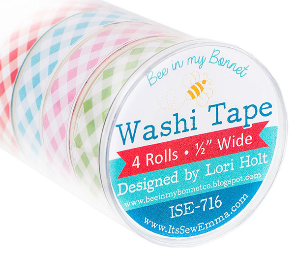 Lori Holt Bee In My Bonnet Gingham Washi Tape/4