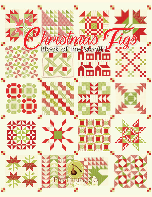 Christmas Figs Book by Joanna Figeroa of Fig Tree Quilts