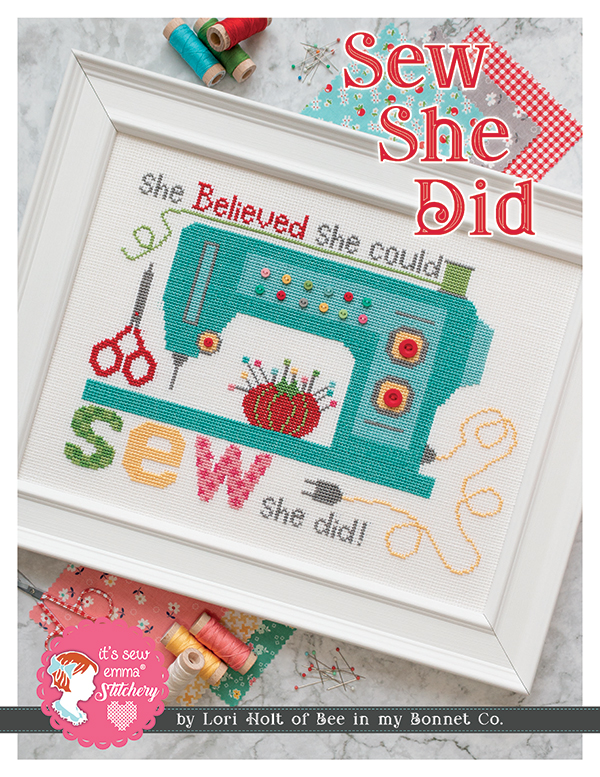 Sew She Did Counted Cross Stitch