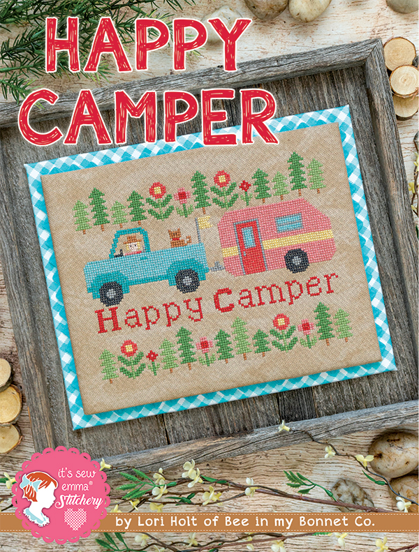 Happy Camper Cross Stitch