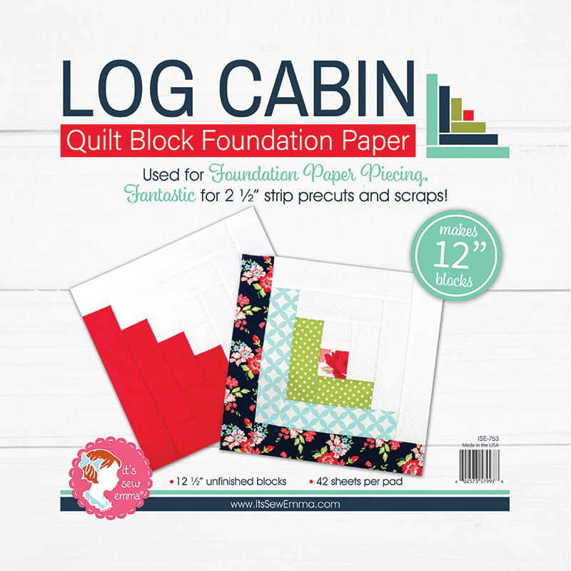 12 Log Cabin Foundation Paper ISE 753