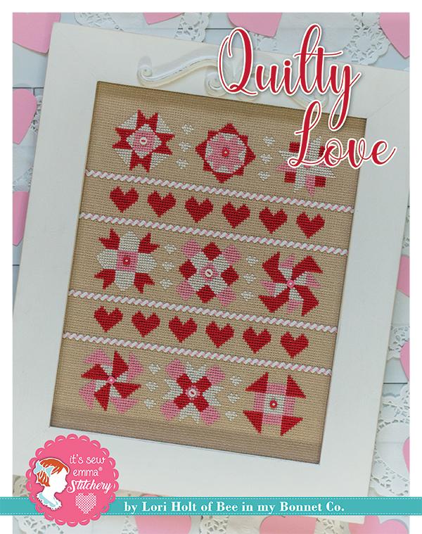 Quilty Love Cross Stitch