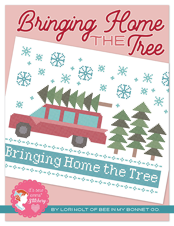 Bringing Home the Tree Cross Stitch