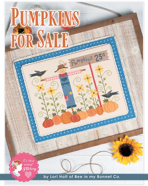 Pumpkins For Sale Cross Stitch Pattern