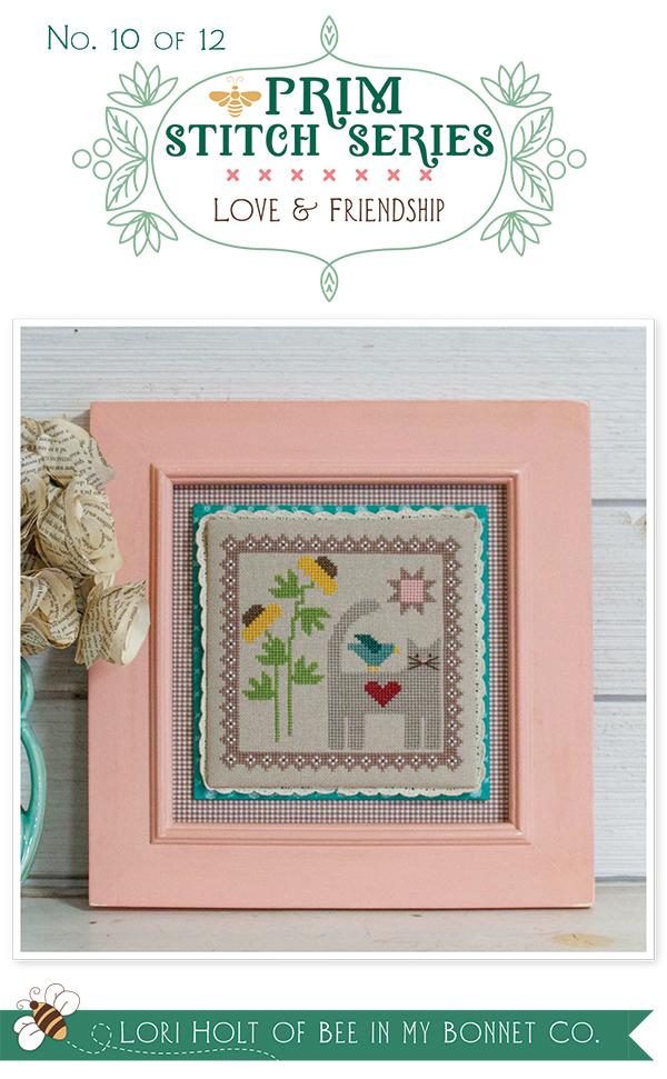 Prim Stitch Series 10 Love & Friendship
