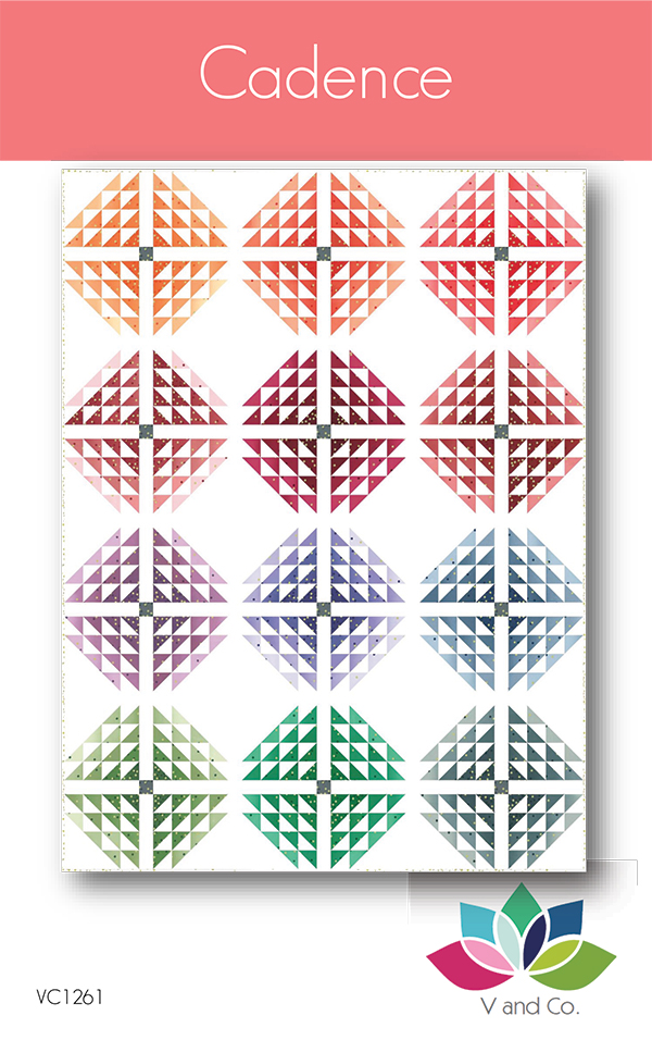 Cadence Quilt Pattern by V. and Co.
