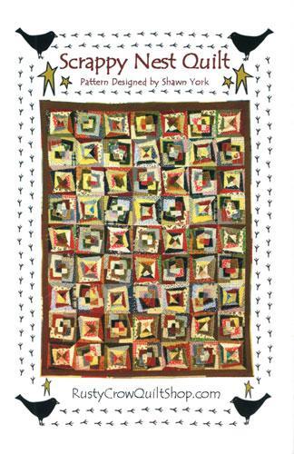 (P50) Scrappy Nest Quilt