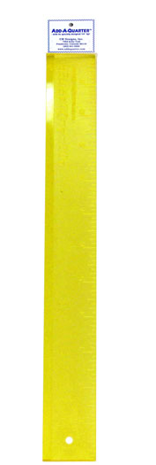 Add-A- Quarter Ruler  -18 inch