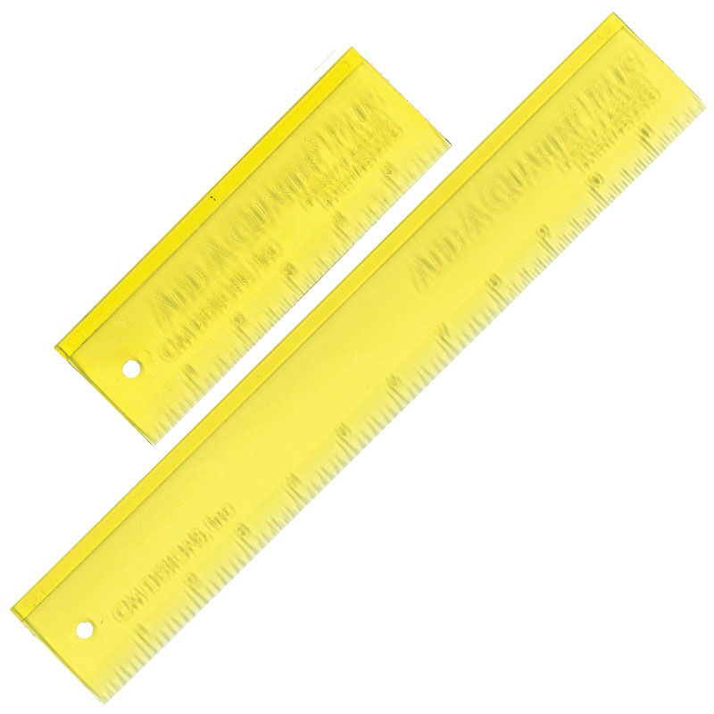 Add-A-Quarter Plus Ruler Combo Pack