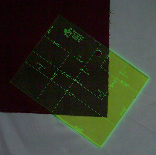 Rectangle Up Ruler/Template