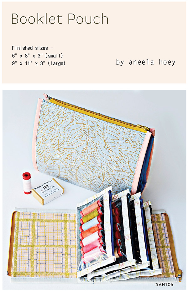 Booklet Pouch * Pattern AH 106