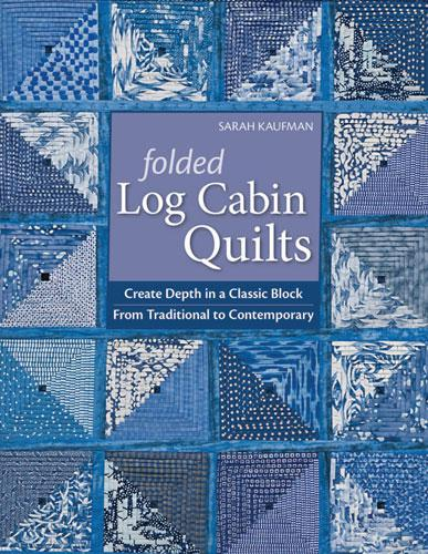 Folded Log Cabin Quilts