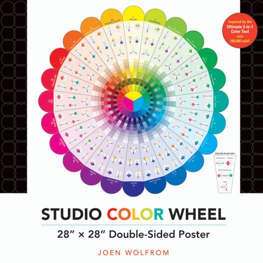 Studio Color Wheel 28x28 Postr