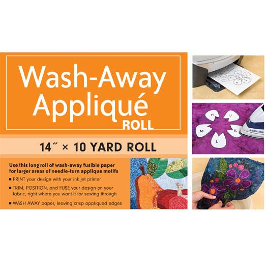 Wash Away Applique Roll 14x10yd