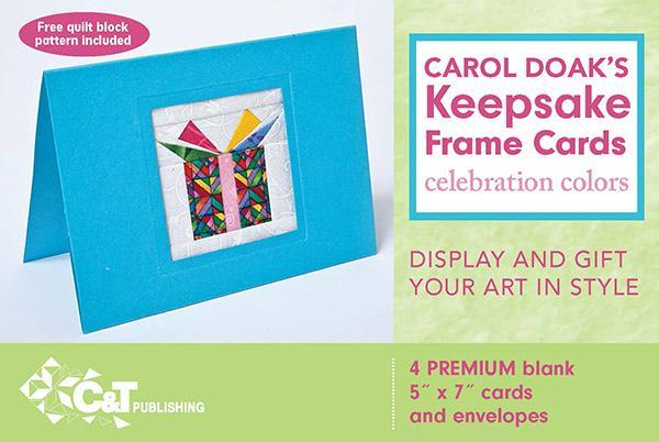 Carol Doaks Keepsake Frame Cards - 4ct