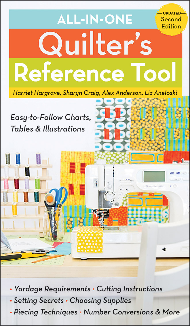 All-in-One Quilter's Reference Tool Updated