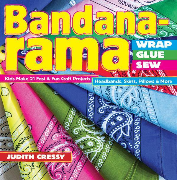 Bandana-Rama-Wrap, Glue, Sew