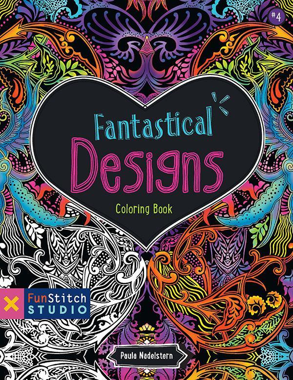 Fantastical Designs Coloring Book