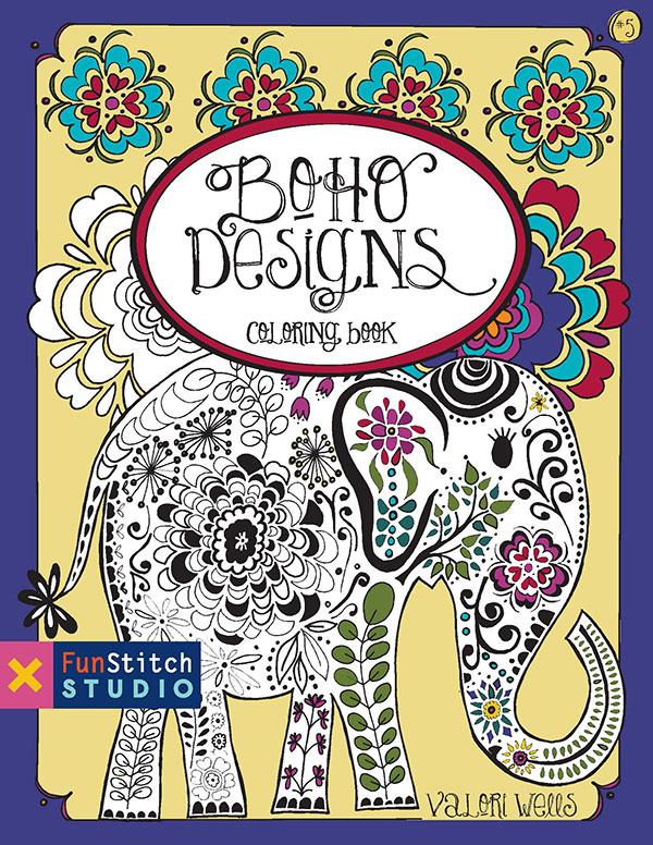Coloring Book - Boho Designs