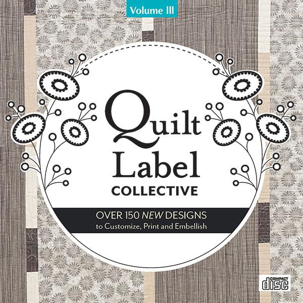 Quilt Label Collective CD-Vol 3