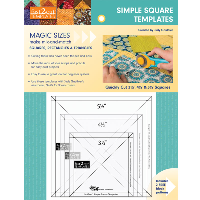 Fast2Cut Simple Square Template