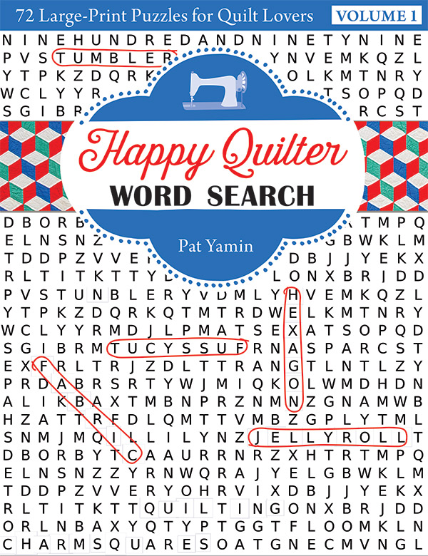 Happy Quilter Word Search/Vol 1