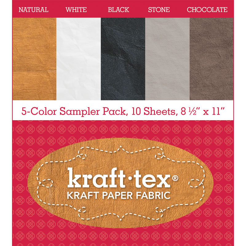 Kraft Tex 5 Color Sampler Pack