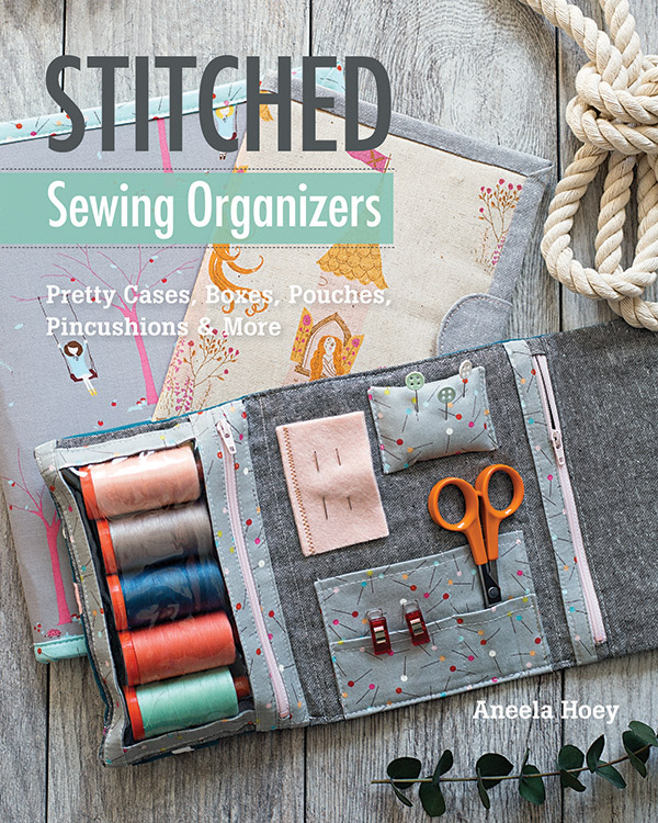 Stitched Sewing Organizers Book Pretty cases, boxes, pouches & pincushions