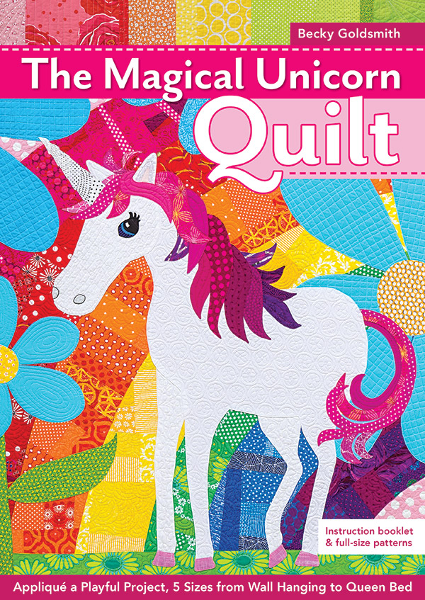 11286 The Magical Unicorn Book Quilt Pattern