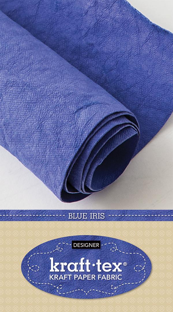 Kraft Tex Designer Blue Iris