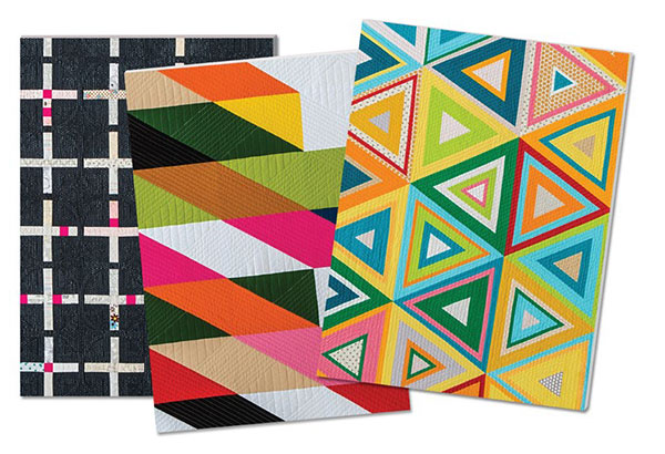 Modern Quilts Notebook 3ct