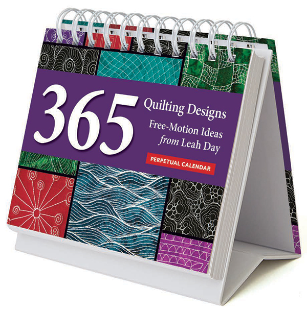 365 Quilting Designs Perpetual Calendar from Leah Day