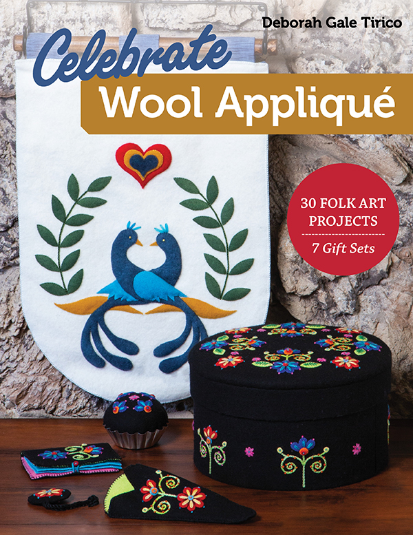 Celebrate Wool Applique