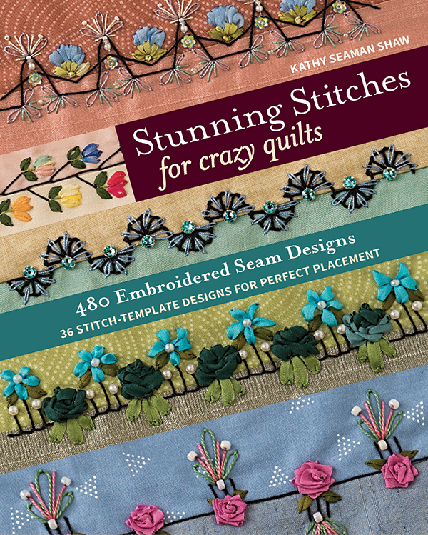 11329 Stunning Stitches For Crazy Quilts