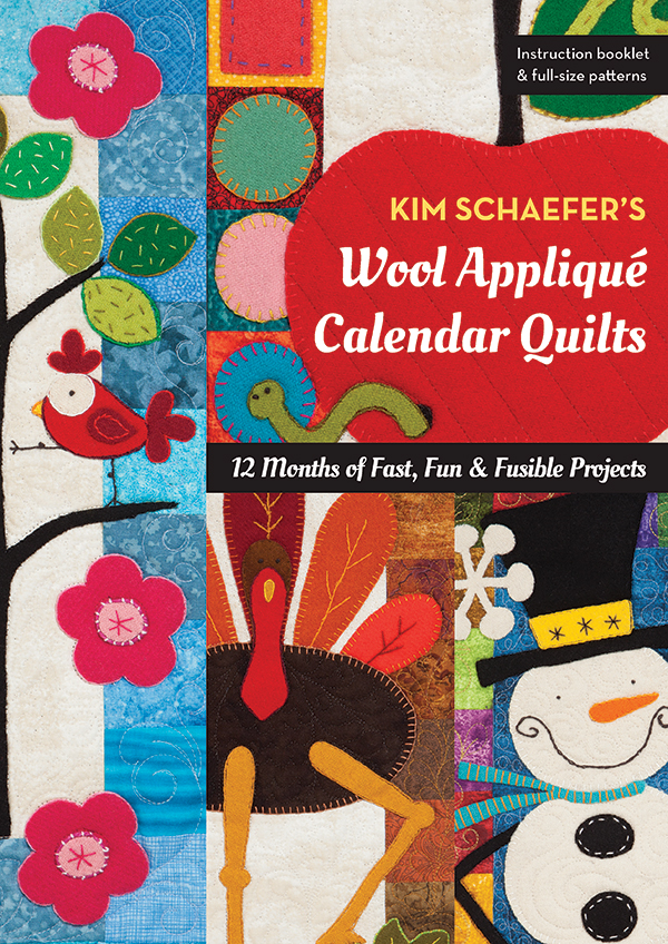 (P) K Schaefers Wool Applique Cal