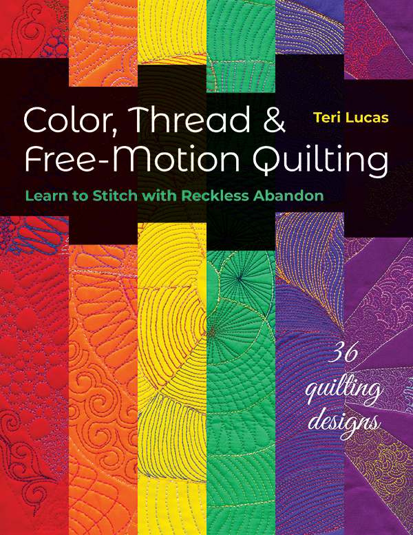 Color Thread & Free Motion Quilting