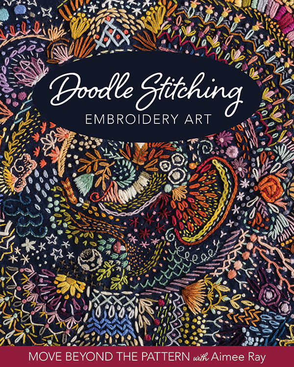 Doodle Stitching Embroidery Art by Aimee Ray