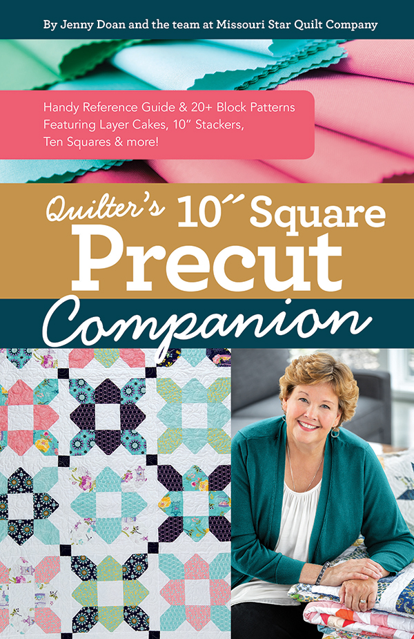 Quilters 10 In Sq Precut Companion, Jennie Doan