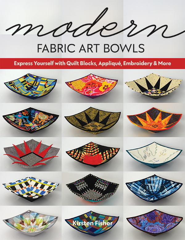 Modern Fabric Art Bowls