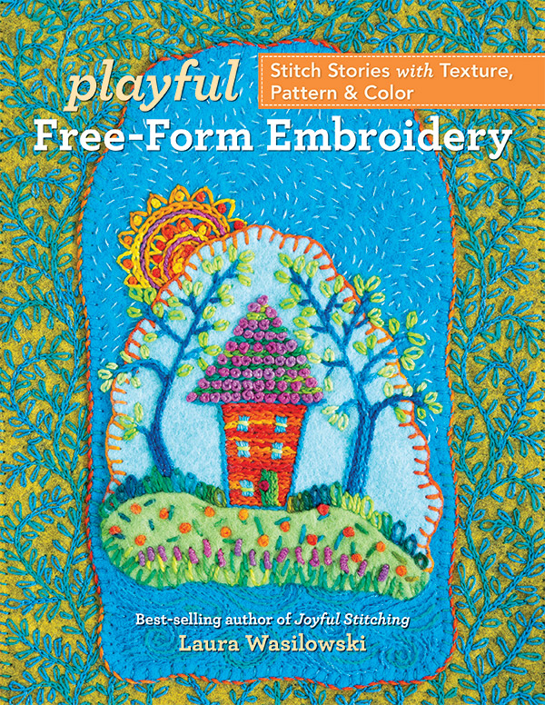 Playful Free Form Embroidery
