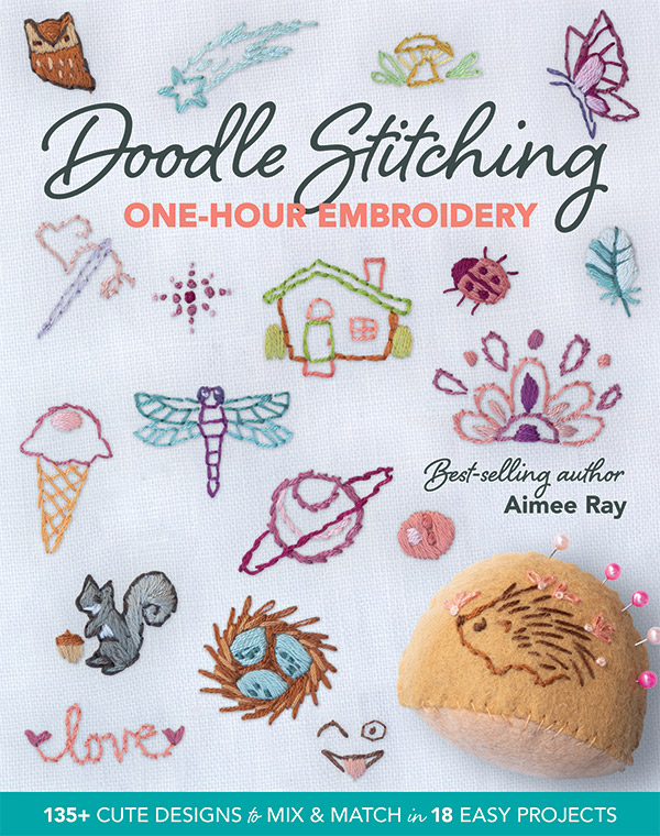 Doodle Stitching 1Hr Embroidery by Aimee Ray