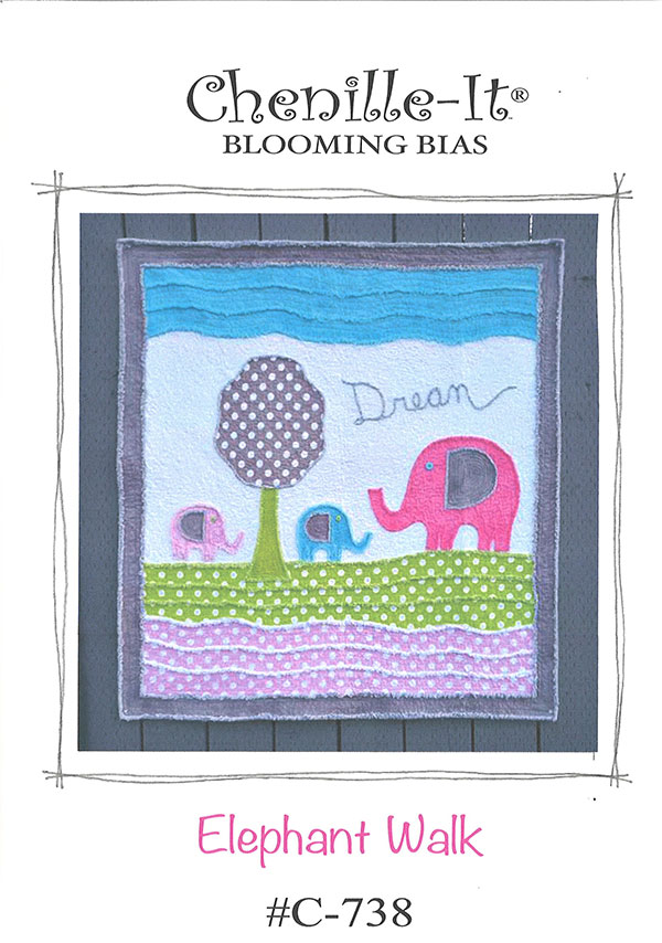 Quilt Pattern - Elephant Walk