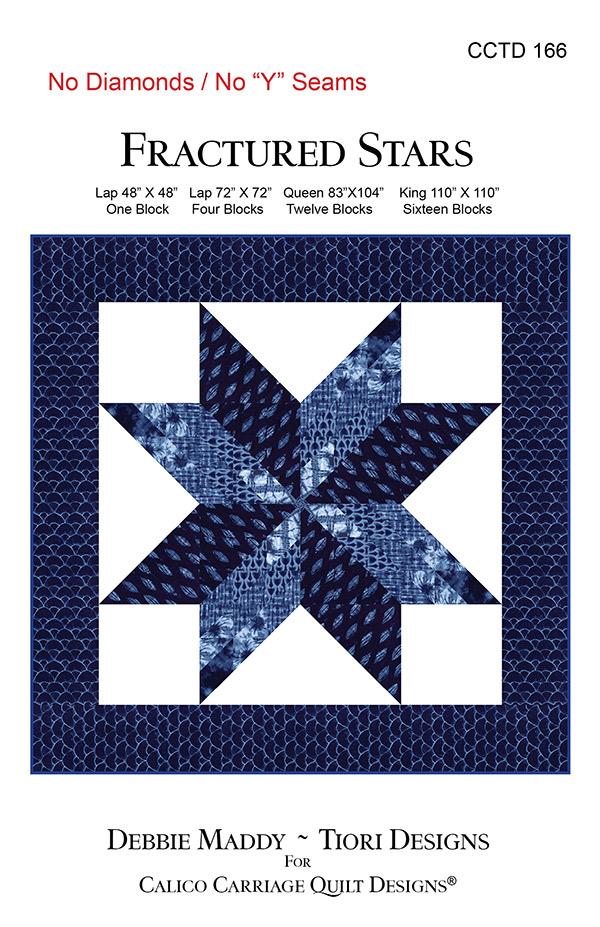 Fractured Stars Quilt Pattern
