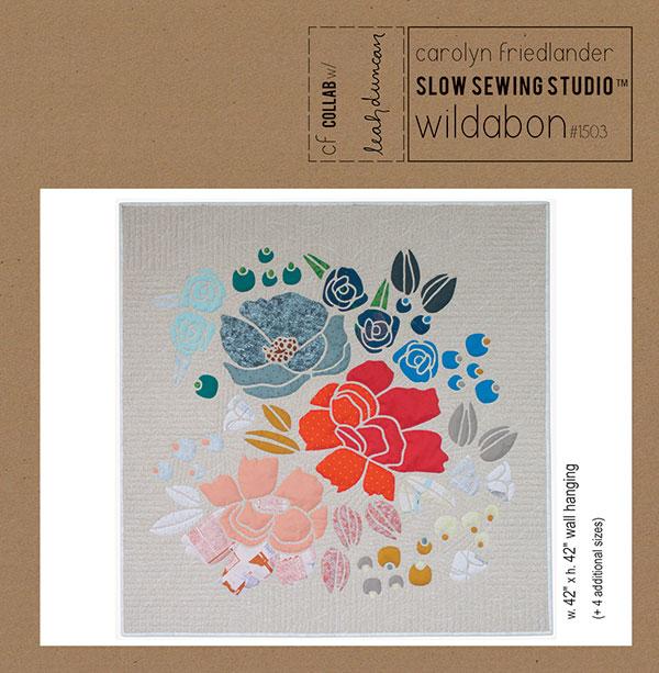 Wildabon Quilt - Paper Sewing Pattern by Carolyn Friedlander