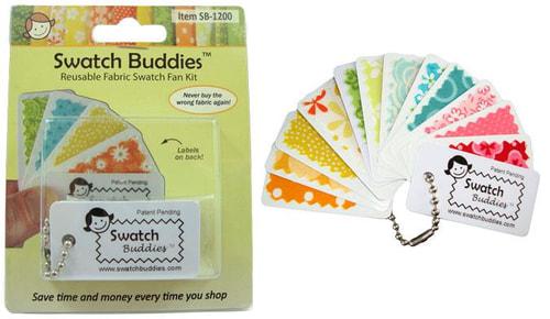 Swatch Buddies Fabric Fan 12ct