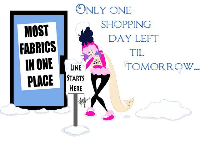 Sticky Note One Shop Day Left